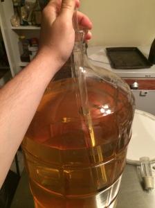 Racking Chardonnay