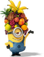 Minion Fruit Hat